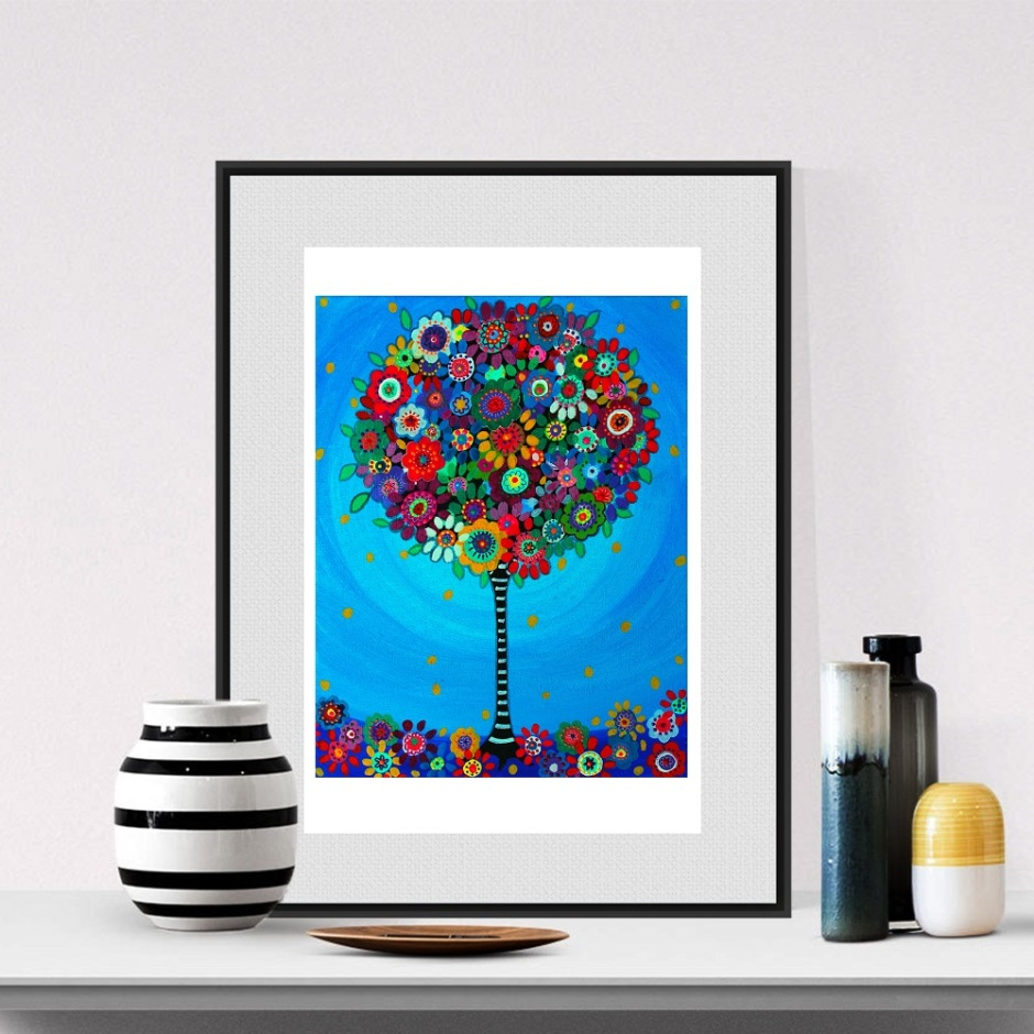 tree of life prisarts paintings gallery whimsical tree for gay